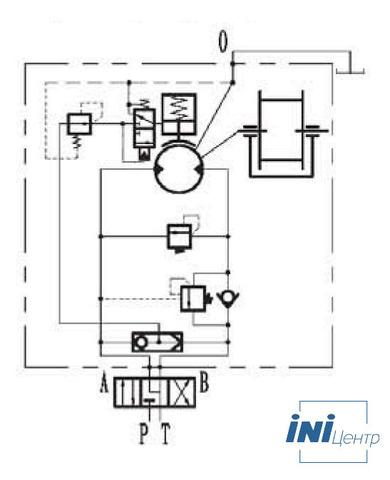 Стандартная лебедка IYJ35.55.5-160-241-28-ZPG