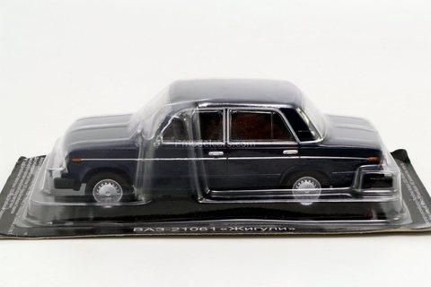 VAZ-21061 Lada (export to Canada) blue 1:43 DeAgostini Auto Legends USSR #274