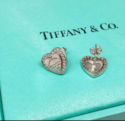 Серьги Heart Tag Diamonds