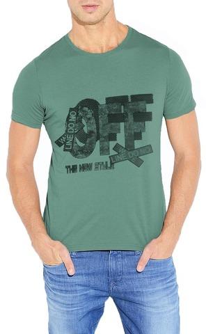 461493-47 футболка мужская, зеленая