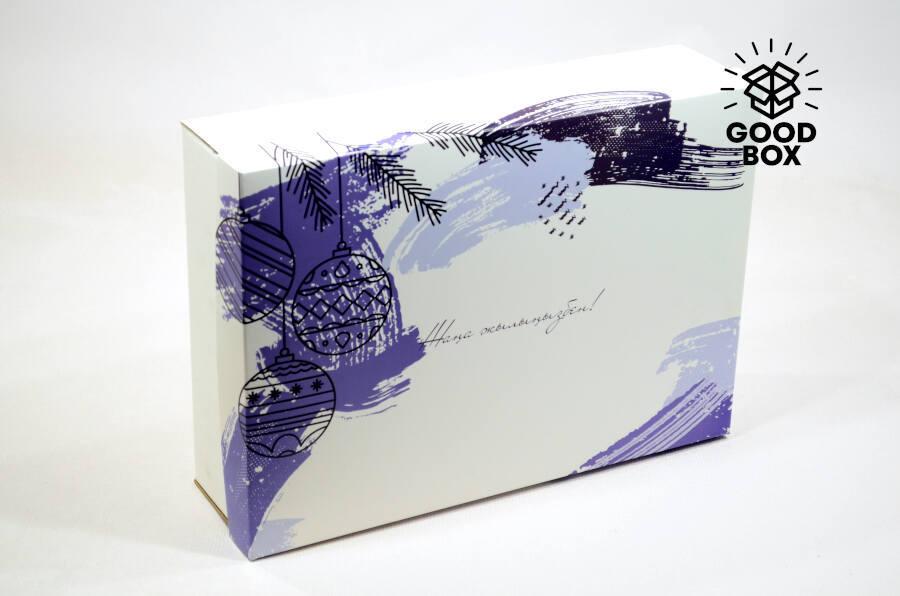Новогодние коробки коллекция 2021 года