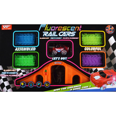 Rail Cars Flvorescent 8223