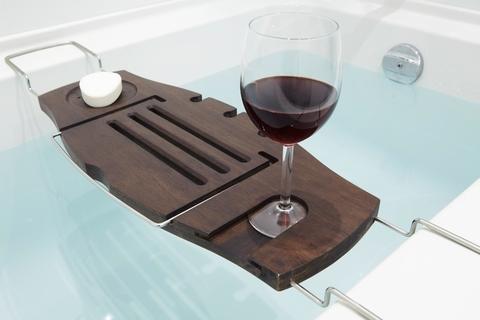 Полка для ванной Umbra Aquala орех