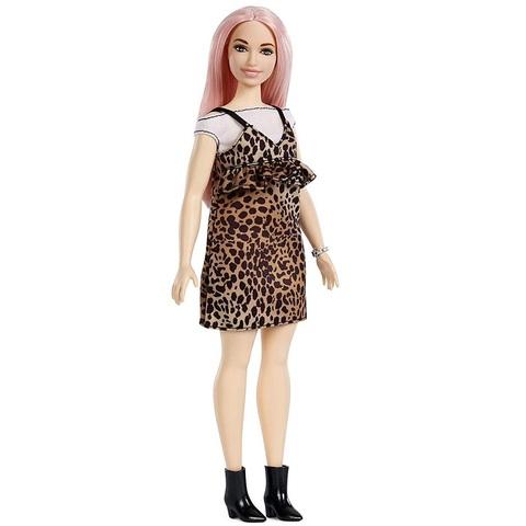Барби Fashionistas 109 в Леопардовом Платье