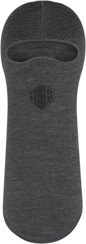 Балаклава шерстяная Buff Balaclava Wool Solid Grey фото 1