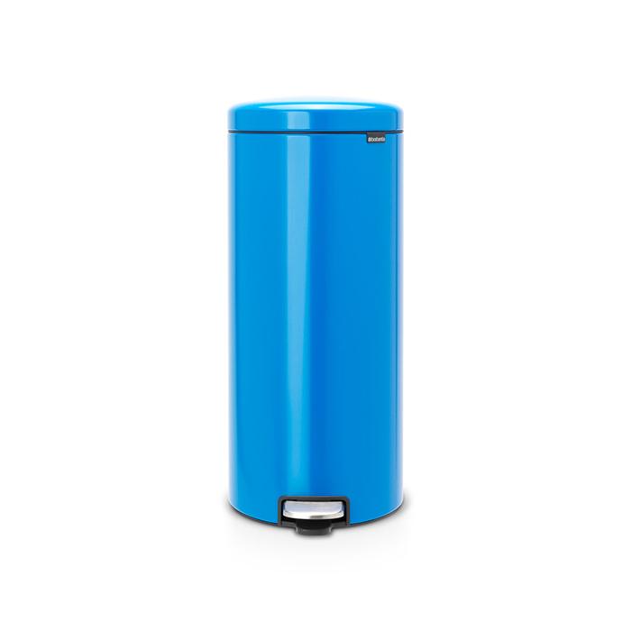 Мусорный бак newIcon (30 л), Ярко-голубой, арт. 128745 - фото 1
