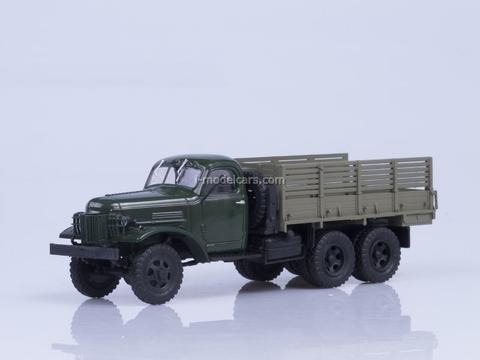 ZIS-151 board Export khaki-gray AutoHistory 1:43