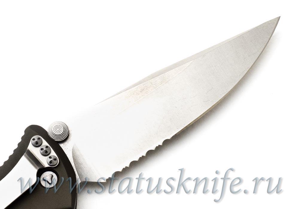"Нож Microtech OD Green Socom Elite M/A Knife (4"" Stonewash Serr) 160-11GR - фотография"