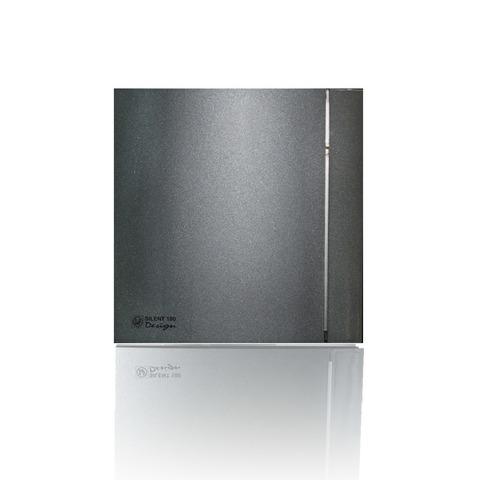 Накладной вентилятор Soler & Palau SILENT 200 CHZ DESIGN-3С GREY (датчик влажности)