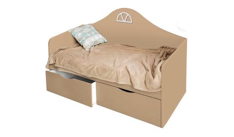 Детский диван-кровать с двумя ящиками