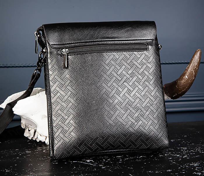 BAG559-1-4 Тонкая мужская сумка из искусственной кожи фото 05