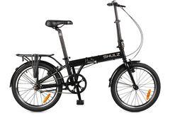 складной велосипед Shulz Max черный