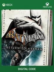 Batman: Return to Arkham (Xbox One/Series S/X, цифровой ключ, русские субтитры)