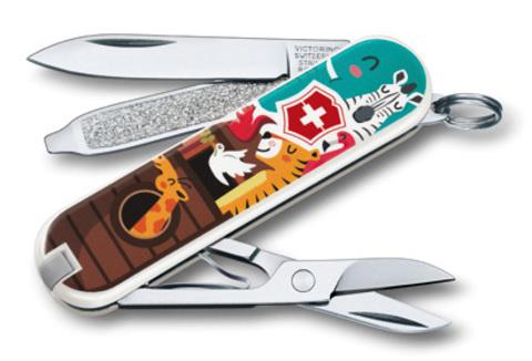 Нож-брелок Victorinox Classic LE 2017, 58 мм, 7 функций,