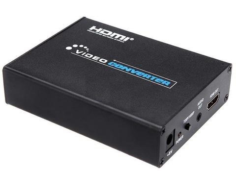 Конвертер SCART to HDMI преобразователь,  металл из SCART в HDMI