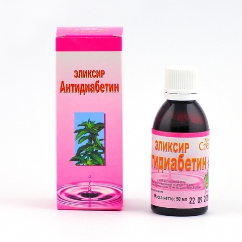 Сахарозаменитель сироп «Антидиабетин»