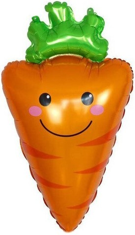 Фольгированный шар Морковка