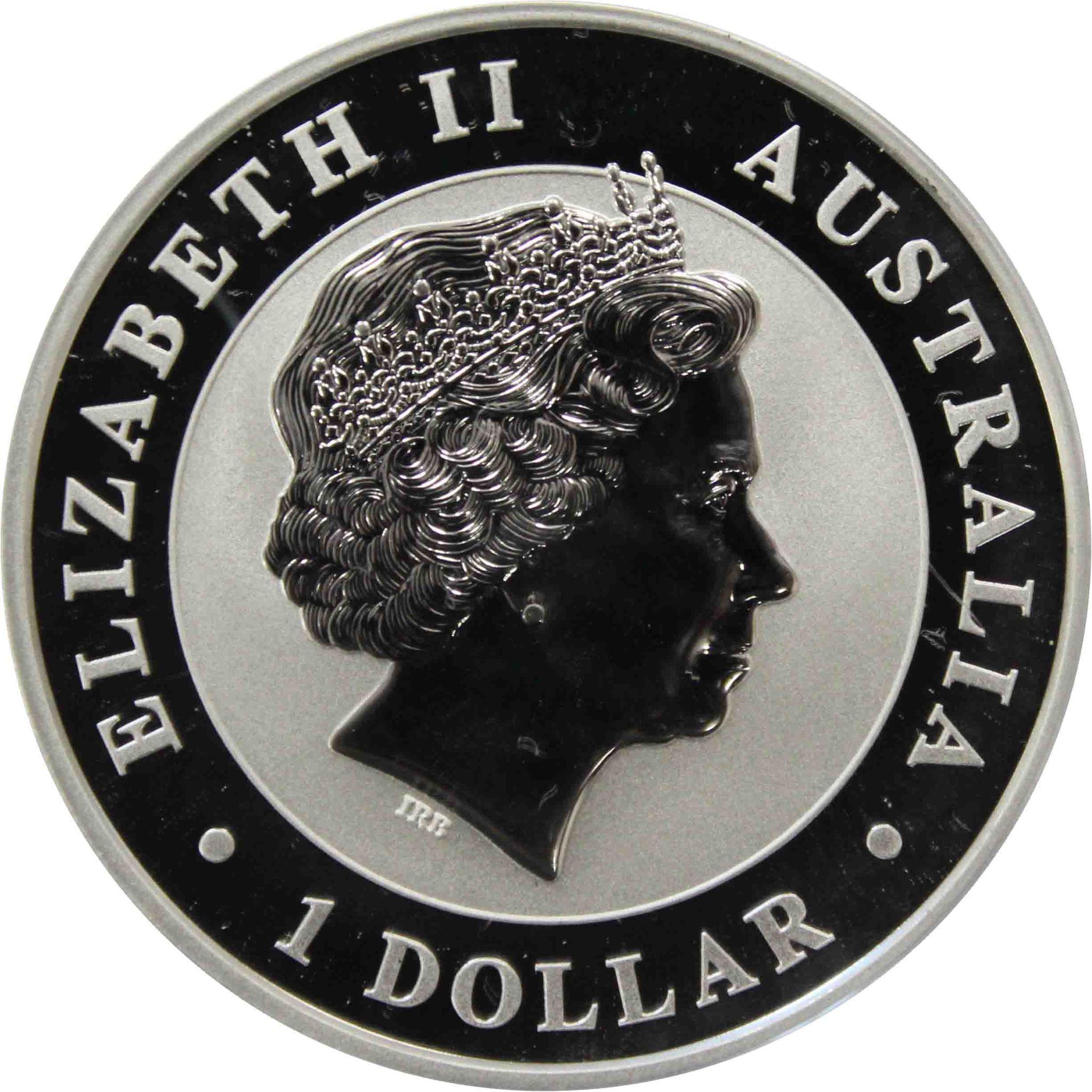 1 доллар. Клинохвостый орел. Австралия. 2018 год