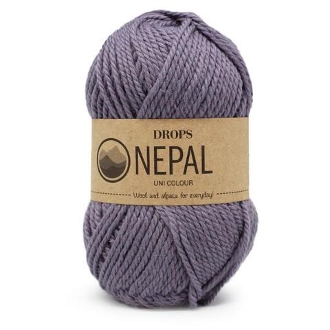Пряжа Drops Nepal 4311 лиловый