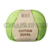 Пряжа Fibranatura Cotton Royal 18-709 (Салат)
