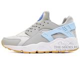 Кроссовки Женские Nike Air Huarache ES Grey Sky Blue White