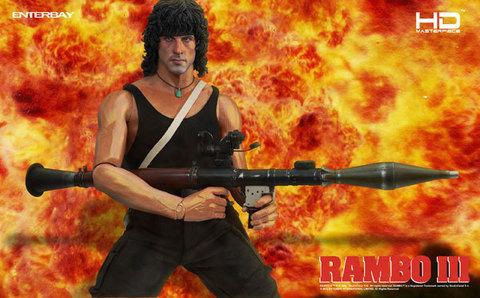 Rambo III - HD Masterpiece 1/4 Scale John Rambo