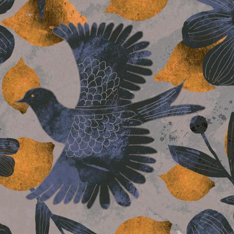 Лимоны и птицы/lemon birds