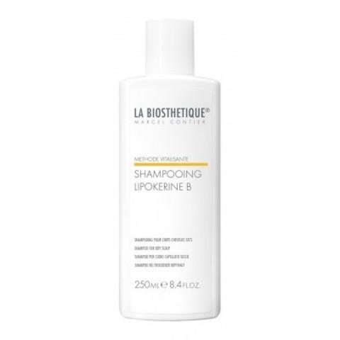 La Biosthetique Methode Vitalisante: Шампунь для сухих волос и сухой кожи головы (Lipokerine B Shampoo For Dry), 250мл