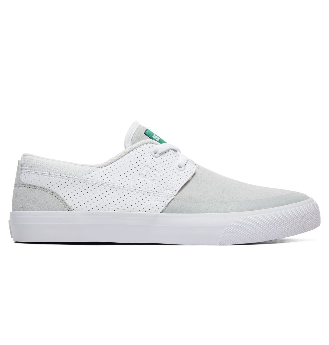 Кеды DC Shoes WES KREMER 2 S M SHOE WGN WHITE/GREEN