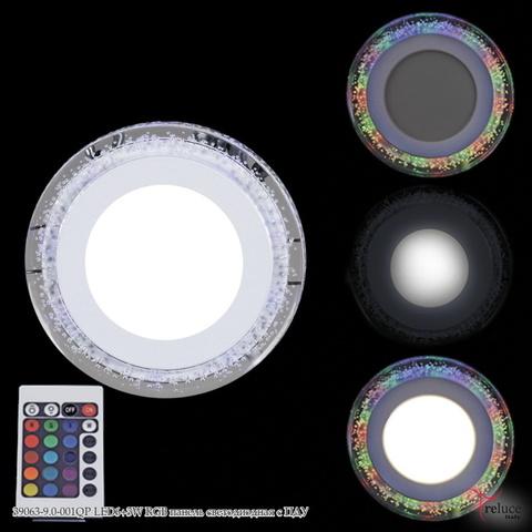 39063-9.0-001QP LED6+3W RGB панель светодиодная с ПДУ