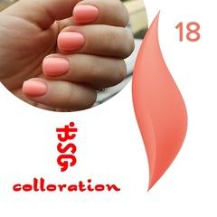 BSG Colloration, №18 Розово-персиковый