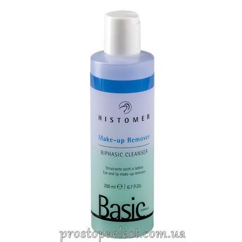 Histomer Basic Eye Make-up Remover - Двофазний лосьйон для демакіяжу очей і губ