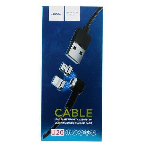 Купить кабель Hoco U20 Magnetic Lightning/Micro USB в Перми