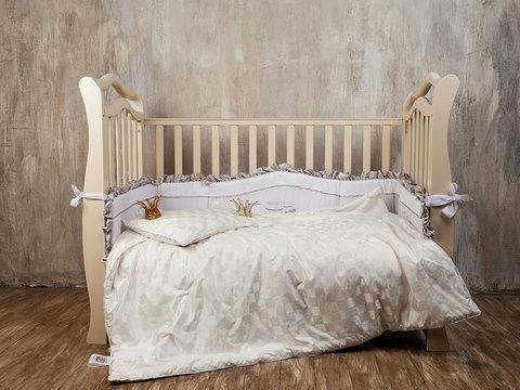 Одеяло детское ручной работы 100x150
