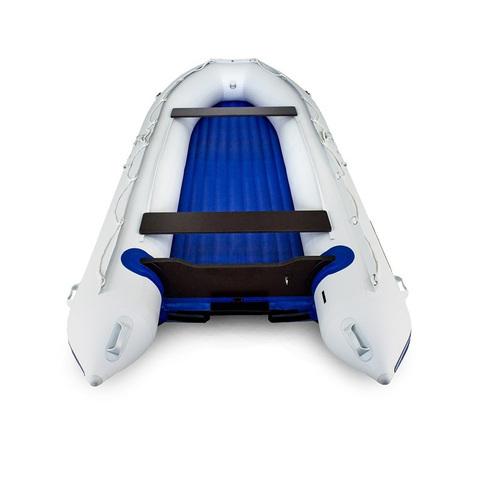 Надувная ПВХ-лодка Солар - 480 Jet Tunnel (светло-серый)