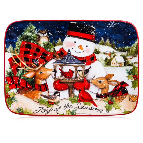 Сервировочные блюда Блюдо прямоугольное 35x25см Certified Int. Магия Рождества Снеговик 3fc35d1bd39160ac395bc024011c3fd9.jpg
