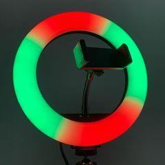 Кольцевая лампа  33 см со штативом Ring Fill Ligh LED MJ33 RGB