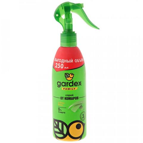 Средство от насекомых Gardex Family Спрей от комаров 100 мл