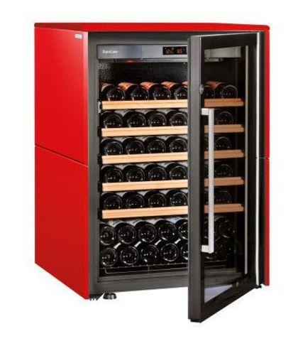 Винный шкаф EuroCave S Collection S красный сатин, максимальная комплектация