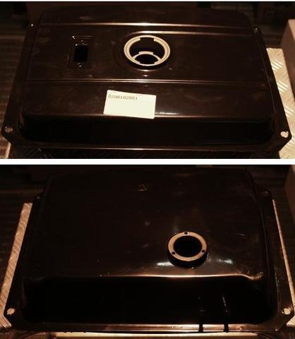 Бак топливный DDE 450х325х115 мм (отв. для крепл.  425х255 мм)  11.5л, 170F, 178F, 186F (0290102001)
