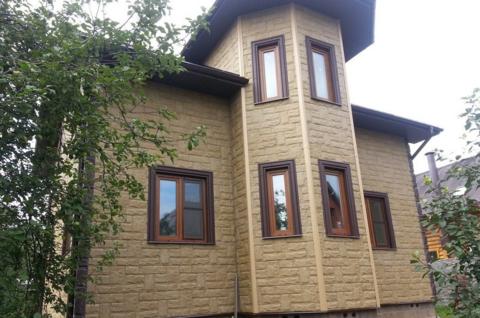 Фасадная панель Альта Профиль Гранит Уральский 1130х470 мм