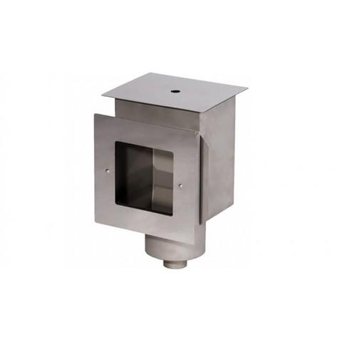 Скиммер нержавеющая сталь AISI-304 внутреннее подключение 1 1/2