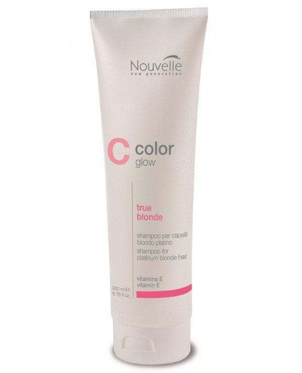 Шампунь для светлых волос Nouvelle ColorGlow Nouvelle True Blond 200мл