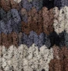 Пряжа Alize Puffy Color цвет 6257
