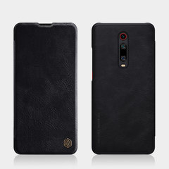 Чехол-книжка Nillkin Qin Leather Case для Xiaomi Mi 9T/ 9T Pro (Черный)