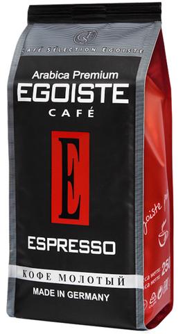 Кофе молотый Espresso, Egoiste, 250 г