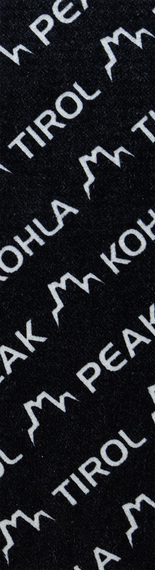 Камус Mohair Mix 110мм, Black