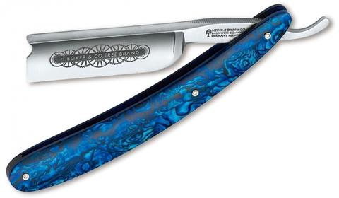 Опасная бритва Boker Manufaktur SOLINGEN 140557 Blue Shell 7/8