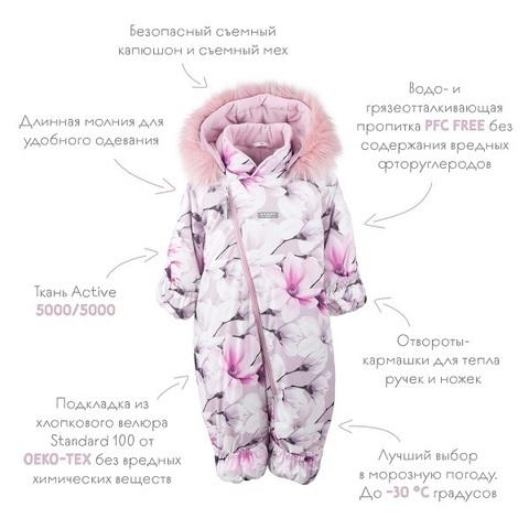 Зимний комбинезон Kerry BERRY K20407 01220