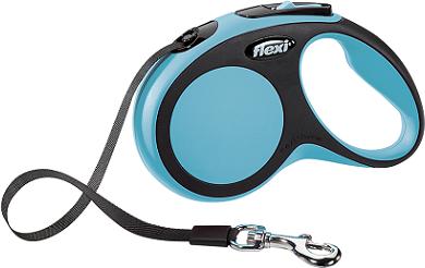 Рулетки Поводок-рулетка Flexi New Comfort S (до 15 кг) лента 5 м черный/синий cd261265-3795-11e6-80f8-00155d29080b.png